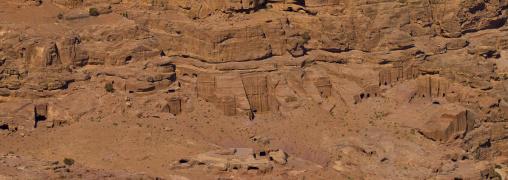 Valley Of The Tombs, Petra, Jordan