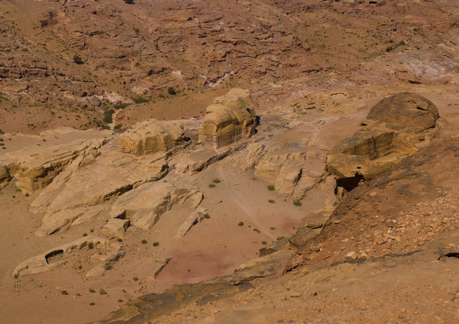 Elevated View Of Petra, Jordan
