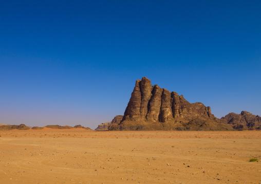Seven Pillars Of Wisdom, Wadi Rum Desert, Jordan