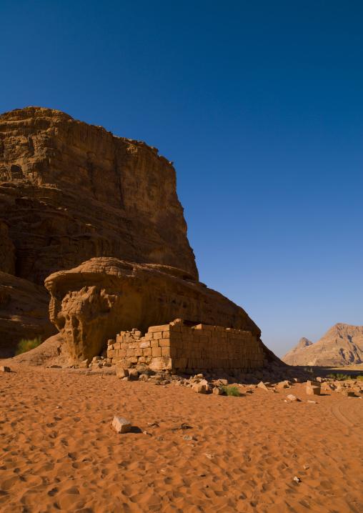 Lawrence Of Arabia's House In Wadi Rum, Jordan