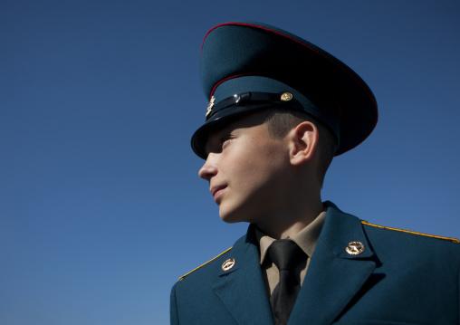 Cadet Army In Astana, Kazakhstan