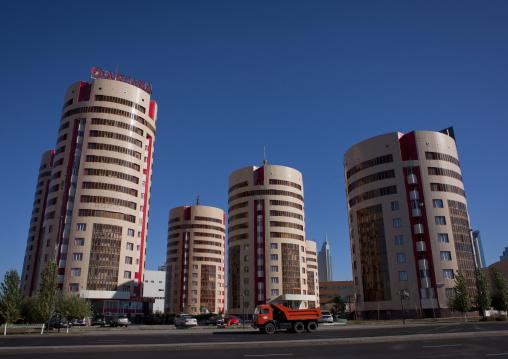 The Beer Cans Buildings In Astana, Kazakhstan