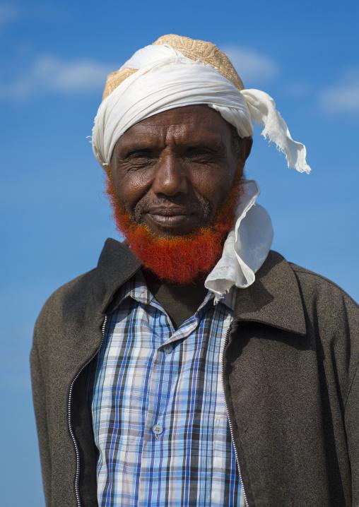 Somali tribe man, Turkana lake, Loiyangalani, Kenya