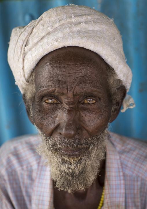 Old gabbra tribe man, Chalbi desert, Kalacha, Kenya