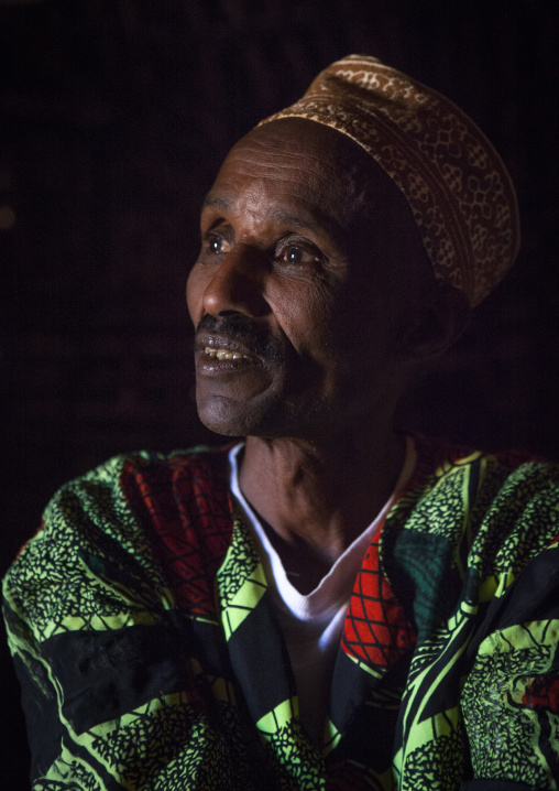 Borana tribe man, Marsabit district, Marsabit, Kenya