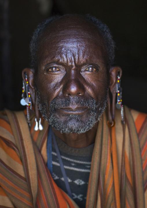 Old masai tribesman, Nakuru county, Nakuru, Kenya