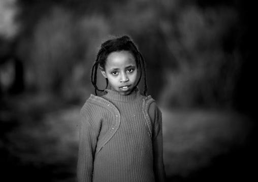 Borana tribe girl, Marsabit district, Marsabit, Kenya