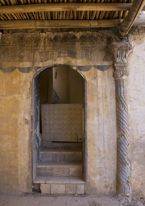 The Interior Of A House In The Erbil Citadel, Kurdistan, Iraq