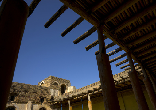 The Courtyard Of One Of The Houses In The Erbil Citadel, Kurdistan, Iraq