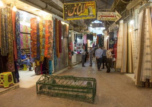 Muslim Grave In The Middle Of An Alley Of Qaysari Bazaar, Erbil, Kurdistan, Iraq