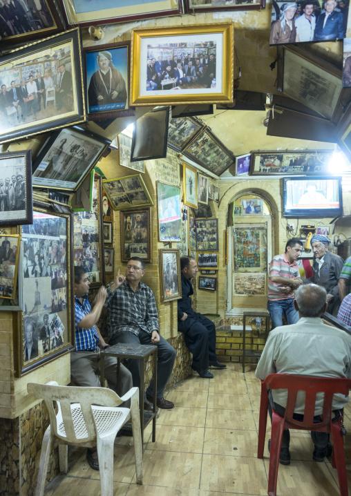 Cafe Inside Qaysari Bazaar, Erbil, Kurdistan, Iraq