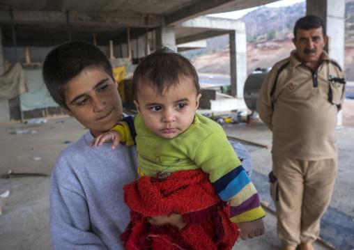 Yezedi Refugees Displaced From Sinjar, Duhok, Kurdistan, Iraq