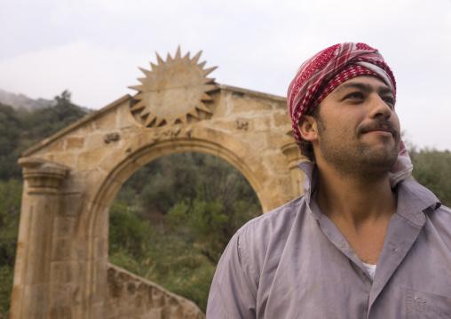 Sinjar Refugee In Lalesh Temple, Kurdistan, Iraq