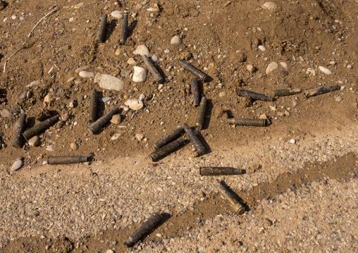Bullets On The Frontline, Duhok, Kurdistan, Iraq