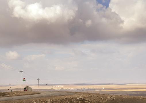 Frontline From The Kurdsih Side, Duhok, Kurdistan, Iraq