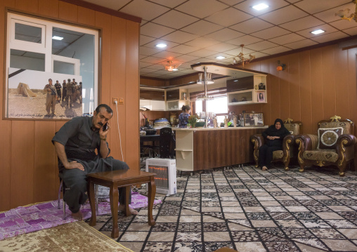 Nasrin Hamalaw AndYousuf Majid, Parents Of Peshmerga Captain Rangin Yousuf Killed By Daesh, Sulaymaniyah, Kurdistan, Iraq
