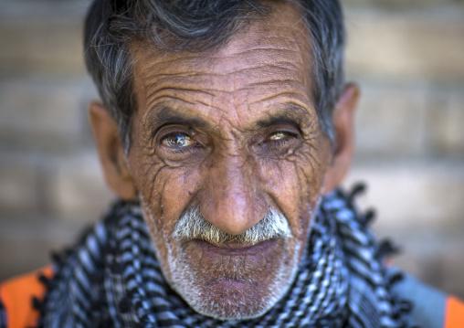 Old Kurdish Man, Erbil, Kurdistan, Iraq