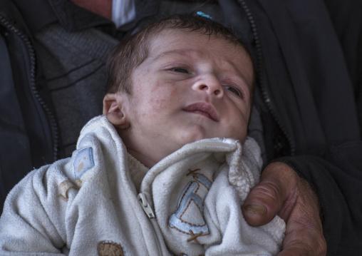 Yezedi Baby Refugee Displaced From Sinjar, Duhok, Kurdistan, Iraq