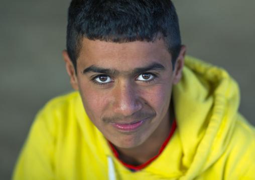 Yezedi Refugee Teenager Displaced From Sinjar, Duhok, Kurdistan, Iraq