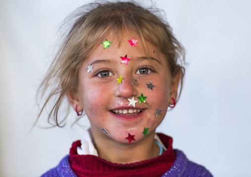 Yezedi Refugee Child From Sinjar, Duhok, Kurdistan, Iraq