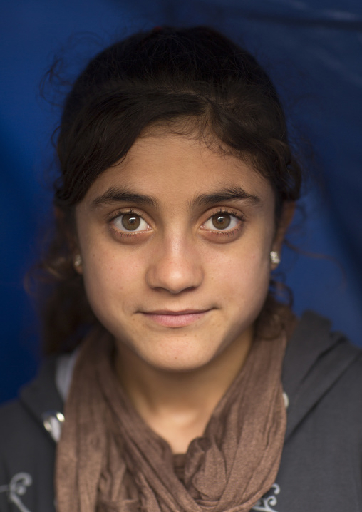 Yezidi Refugee Woman Displaced From Sinjar Living In Lalesh Temple, Kurdistan, Iraq