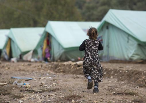 Yezedi Refugee Child From Sinjar, Lalesh, Kurdistan, Iraq
