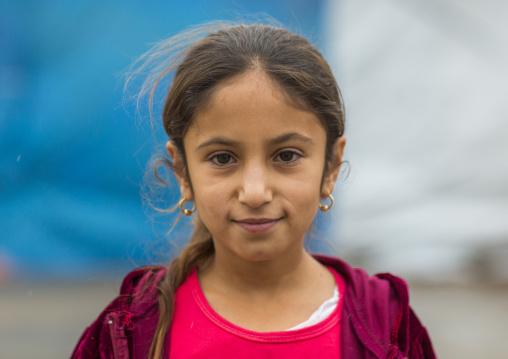 Yezedi Refugee From Sinjar, Zohar, Kurdistan, Iraq