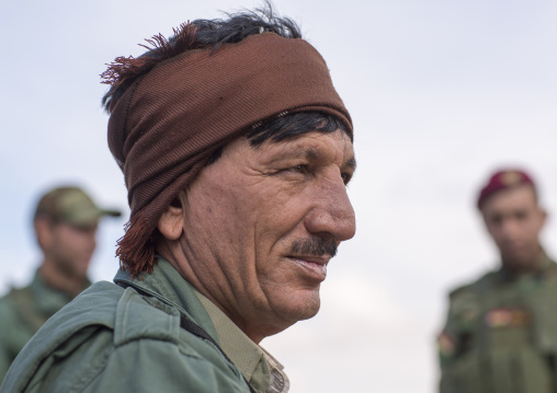 Kurdish Peshmergas On The Frontline, Duhok, Kurdistan, Iraq