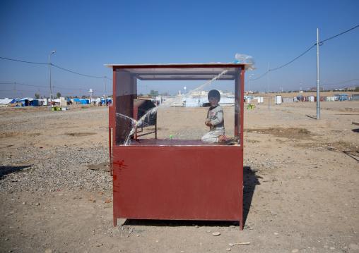 Little Shop Inside Qushtapa Refugee Camp, Erbil, Kurdistan, Iraq
