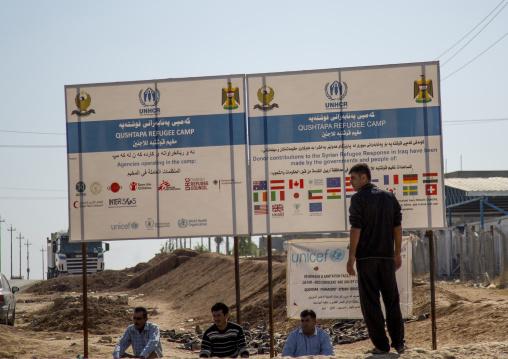 Qushtapa Refugee Camp, Erbil, Kurdistan, Iraq