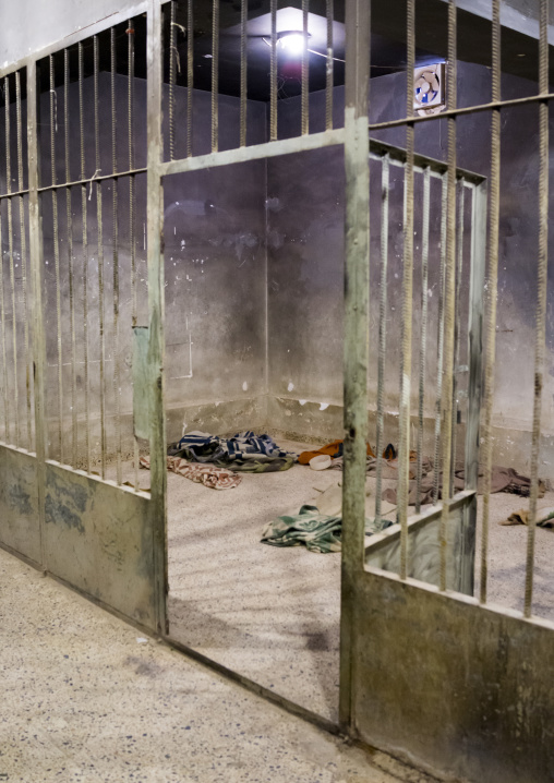 Jail In Amna Sur Museum In The Red Security Building, Suleymanyah, Kurdistan, Iraq