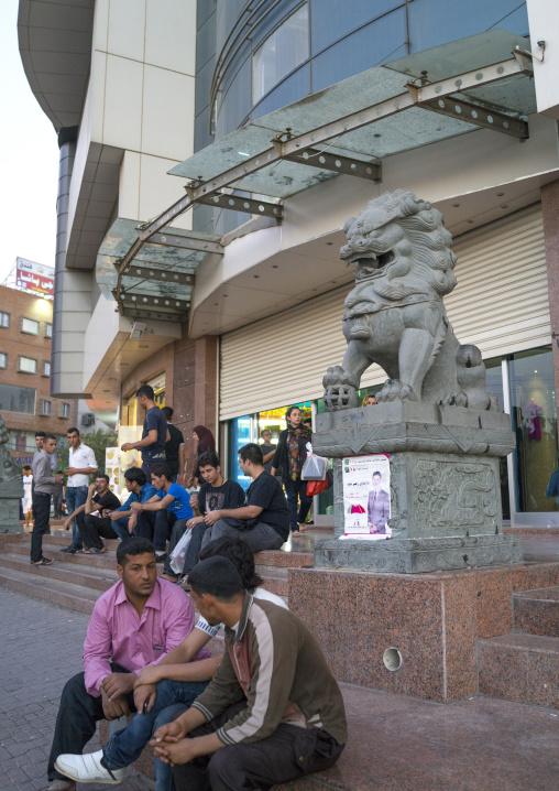 Chinese Dragon Statue, Suleymanyah, Kurdistan, Iraq