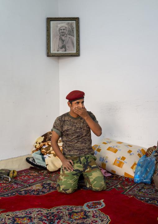 Soldier, Erbil, Kurdistan, Iraq