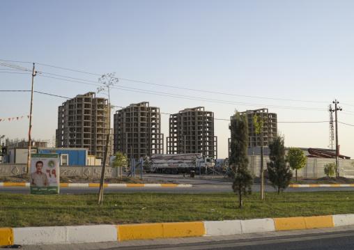 New Apartements, Erbil, Kurdistan, Iraq