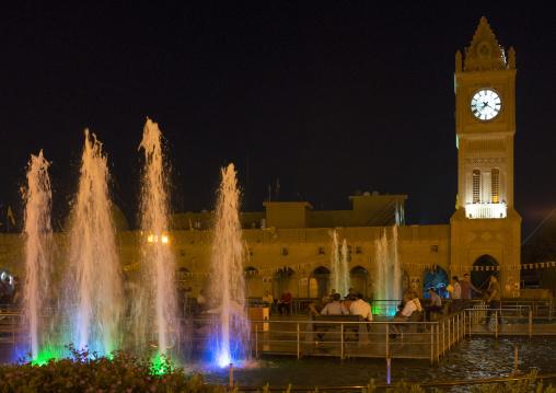 Erbil Dancing Fountain, Kurdistan, Iraq