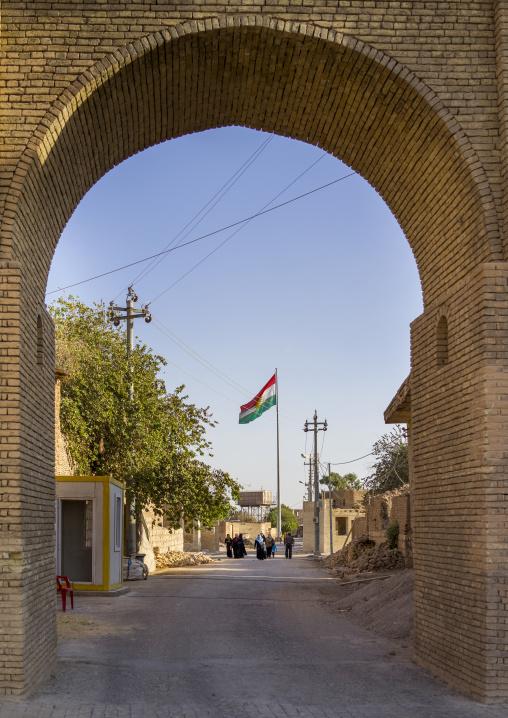 The Citadel Gate, Erbil, Kurdistan, Iraq