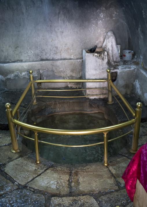 Baptism Pool In The Temple City Of Lalesh, Kurdistan, Iraq