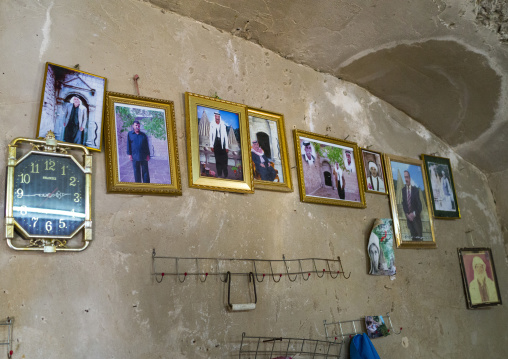 Yazidi Family Pictures In The Temple City Of Lalesh, Kurdistan, Iraq