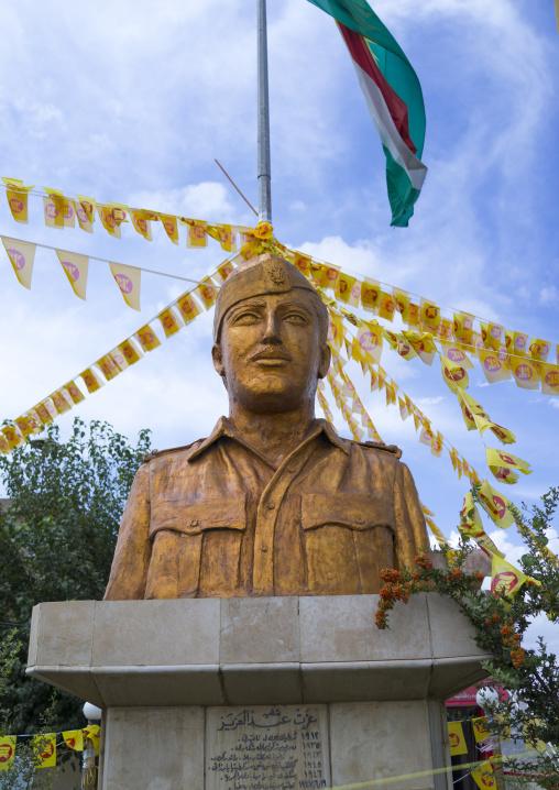 Kurdish Hero Statue, Amedi, Kurdistan Iraq