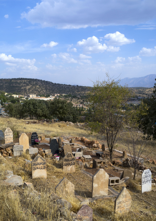 Kurdish Graves, Barzan, Kurdistan, Iraq