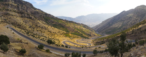 Mountain Road, Barzan, Kurdistan, Iraq