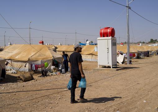 Syrian Refugee Camp, Erbil, Kurdistan, Iraq