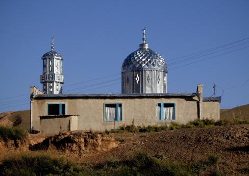 Mosque In Kochkor Area, Kyrgyzstan