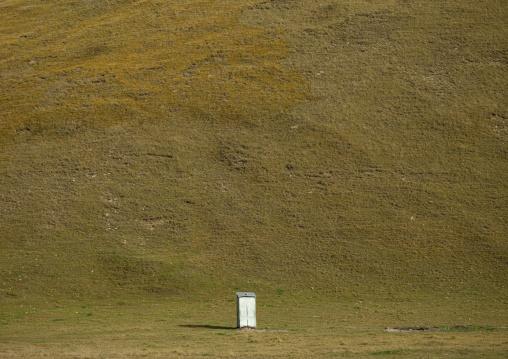Toilets In Jaman Echki Jailoo Village, Song Kol  Lake Area, Kyrgyzstan