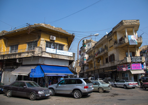Old buildings in the city, North Governorate, Tripoli, Lebanon