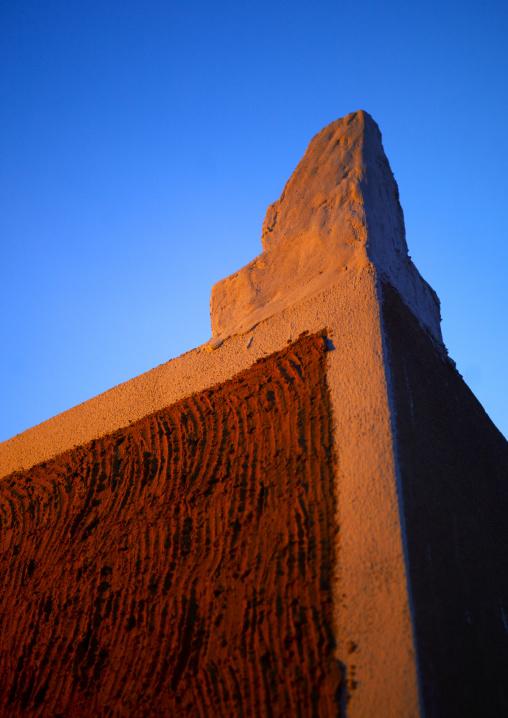Berber house wall, Tripolitania, Ghadames, Libya