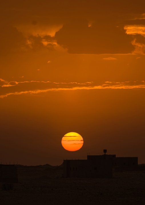 Sunset, Tripolitania, Ghadames, Libya