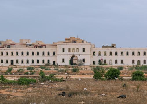 Italian colonial building, Cyrenaica, Benghazi, Libya