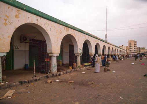 Alley in the market, Cyrenaica, Benghazi, Libya