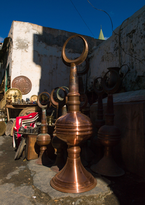 Religious stuff for sale in the market, Tripolitania, Tripoli, Libya